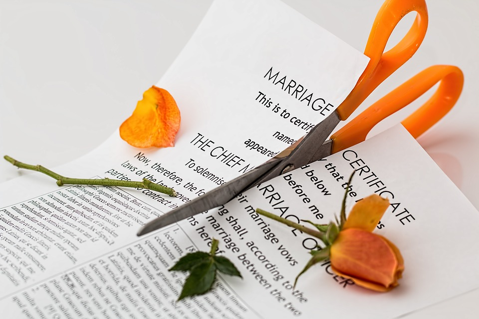 Five Emotional Stages of a Divorce